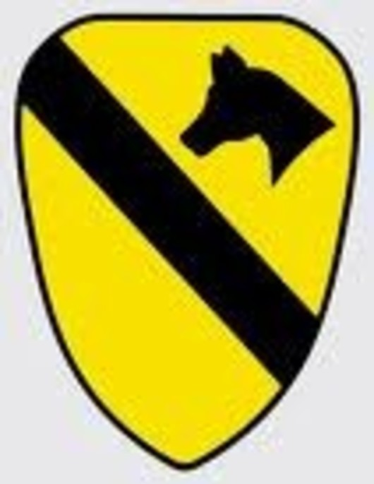 1st US Cavalry Decal Sticker
