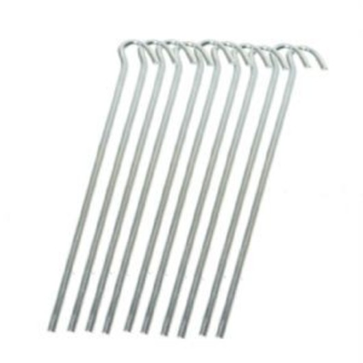 9 inch -21.5cms Metal Tent Peg