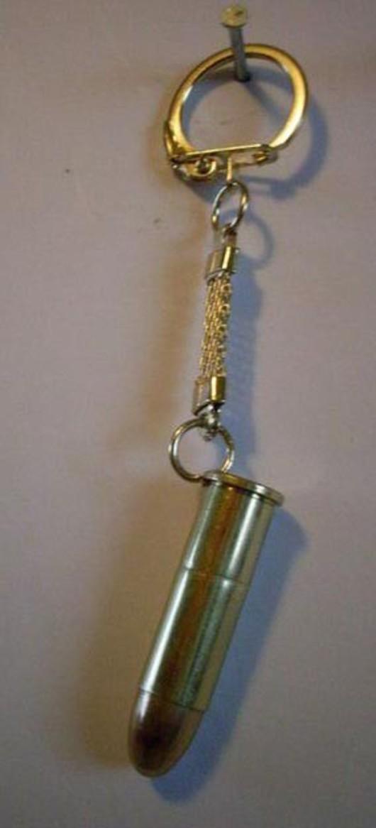 .38 Special Medium Bullet Keyring
