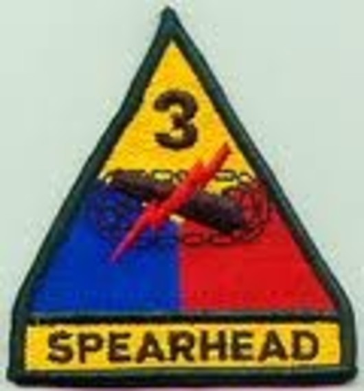 3rd Armoured Division Colour Badge