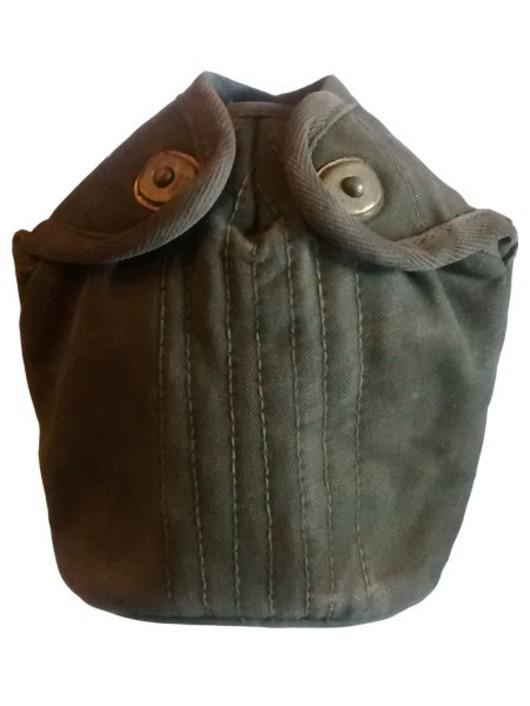 Dutch army metal Waterbottle & pouch