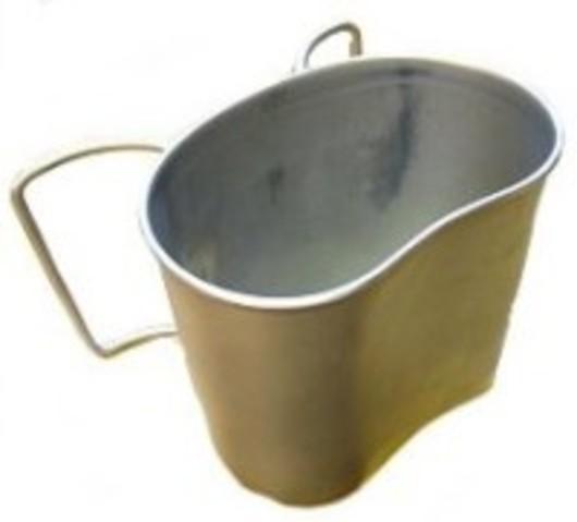 44 Pattern Steel Mug
