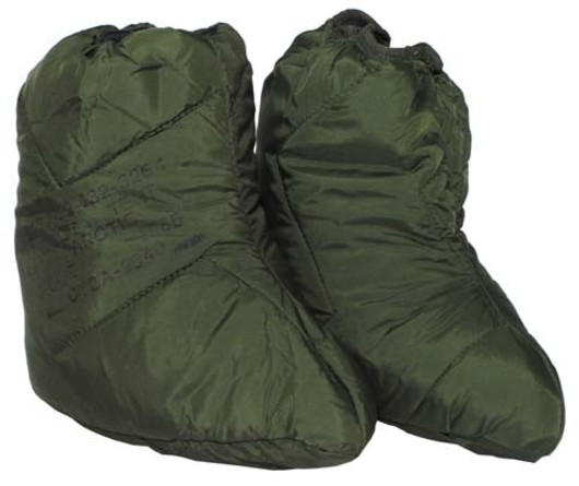 British army Arctic sleeping bag socks
