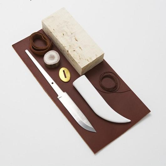 Karesuando Knife-making kit - 9cm Carbon