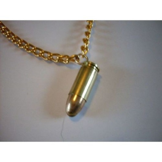 9mm Small Bullet Pendent