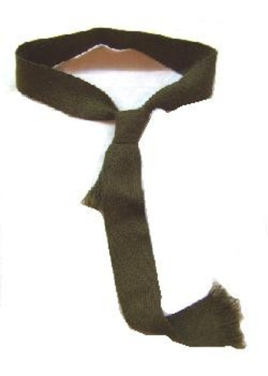 British Army Issue Khaki Wool Tie