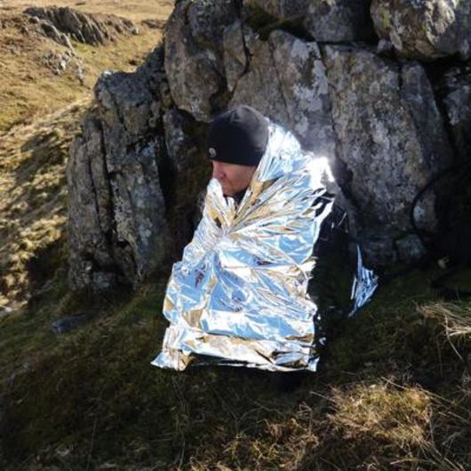 Foil Emergency Hypothermia Blanket