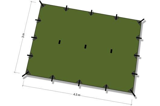 DD Hammocks Tarp XL 4.5m x 3m
