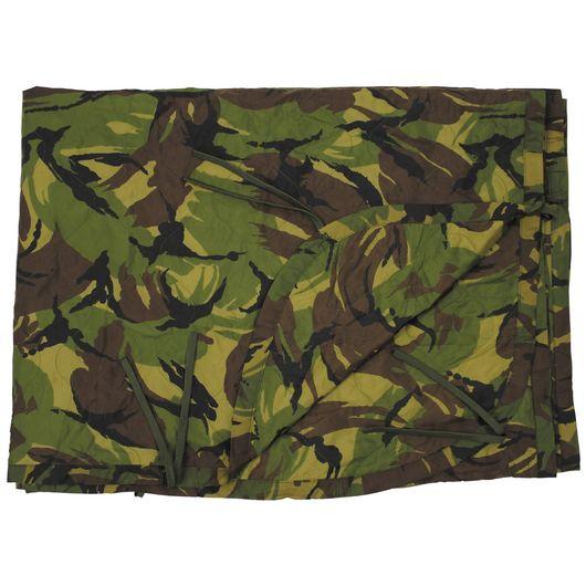 Dutch Army Woodland Camouflage Poncho Liner