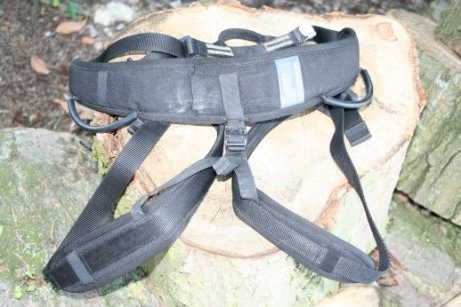 French Army Petzl Climbing Harness - For Display purposes only