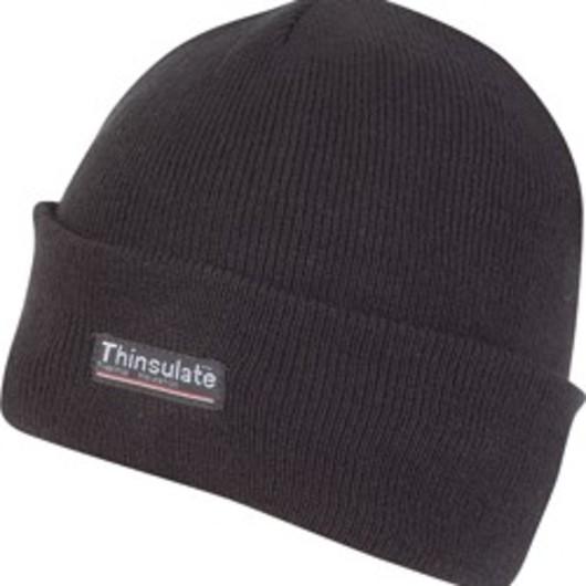 Black Thinsulate Bob Hat