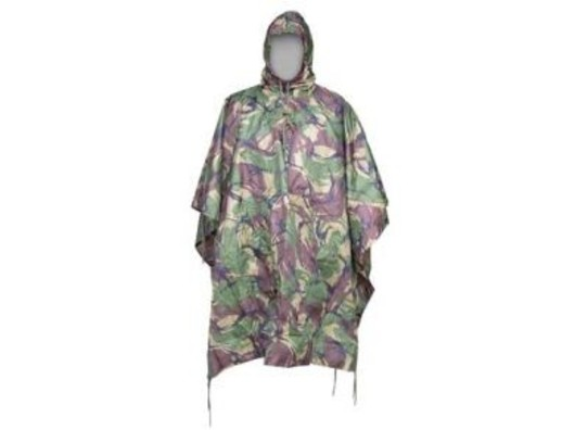 Lightweight compact Military Poncho DPM