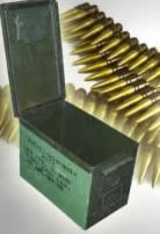 Large 7.62 Ammo Tin
