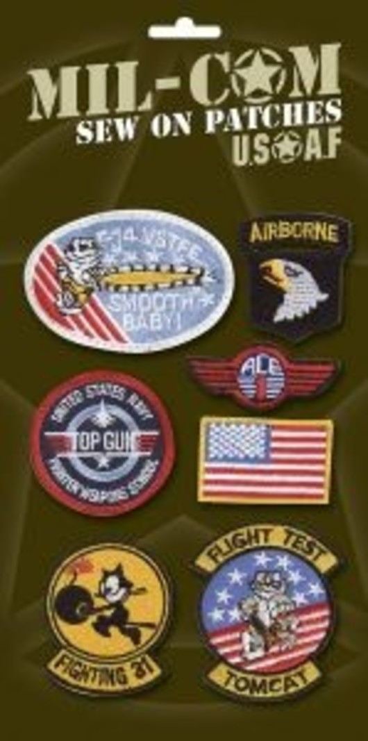 Top Gun Flightsuit Badges Patches Collection