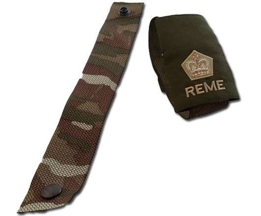 MTP Molle Webbing Rank Slide Strap with Pop Studs for British Osprey