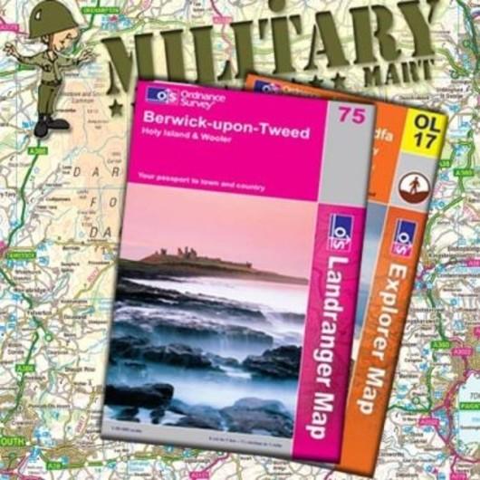Isle Of Man 95 - Ordnance survey Landranger Map