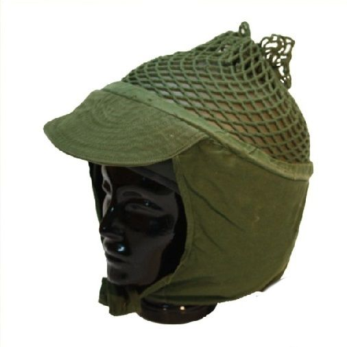 Swedish Army helmet net with peak