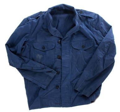Swedish Army Blue Work Jacket