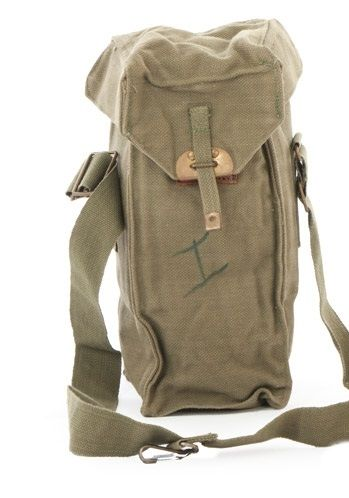 Belgian Respirator shoulder bag