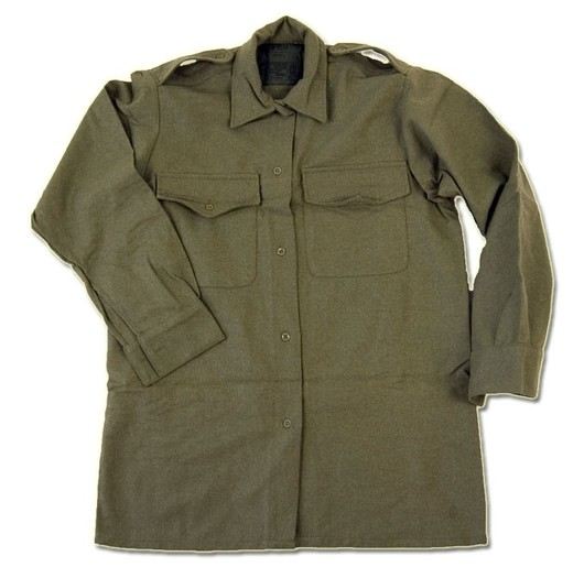 British army wool Field shirt