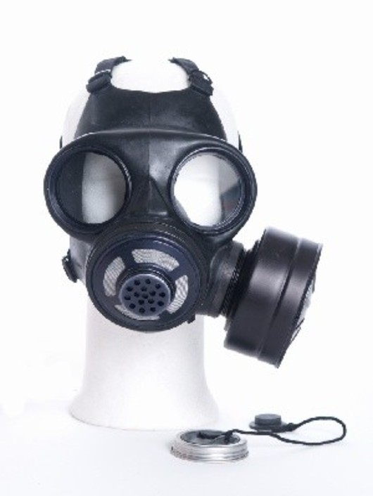 Danish  British gas mask and filter