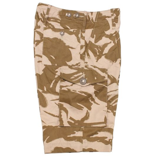 British Army Issue Desert Shorts