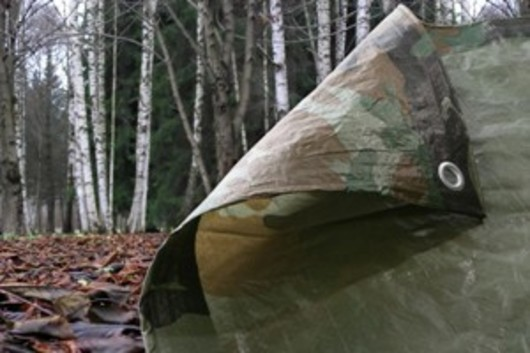 Camouflage Tarpaulin 4.5M x 6.0M