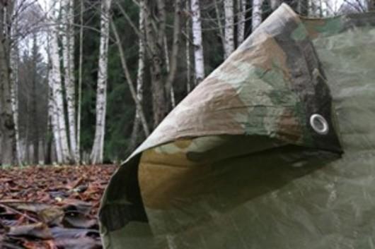 Camouflage Tarpaulin 5.4M x 7.0M