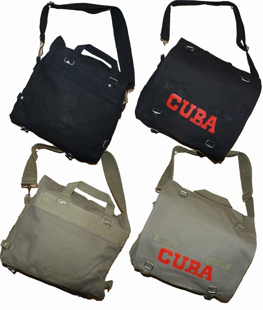 Retro Canvas Shoulder bag Cuba