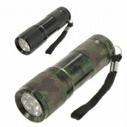 Corba Ultra Bright 9 LED Torch
