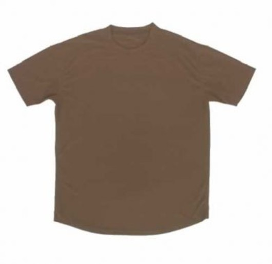 British Army Brown Cool wicking T-Shirt