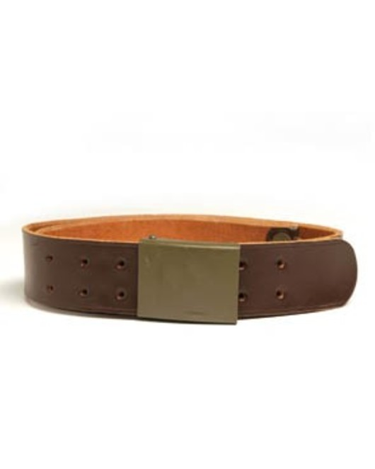 Czech Leather Belt