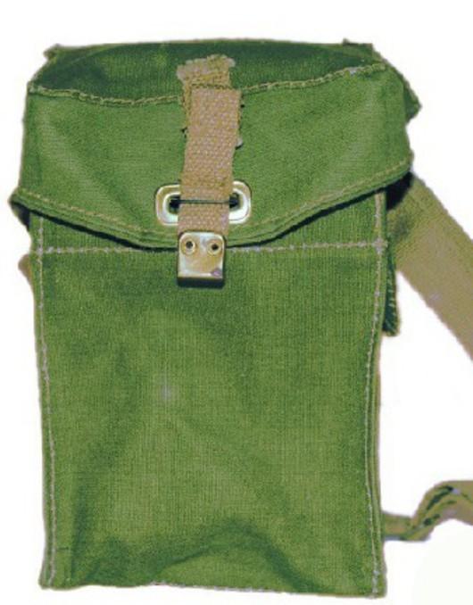 British Army Gas Mask Bag