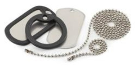 Dog Tag  Silencers Set