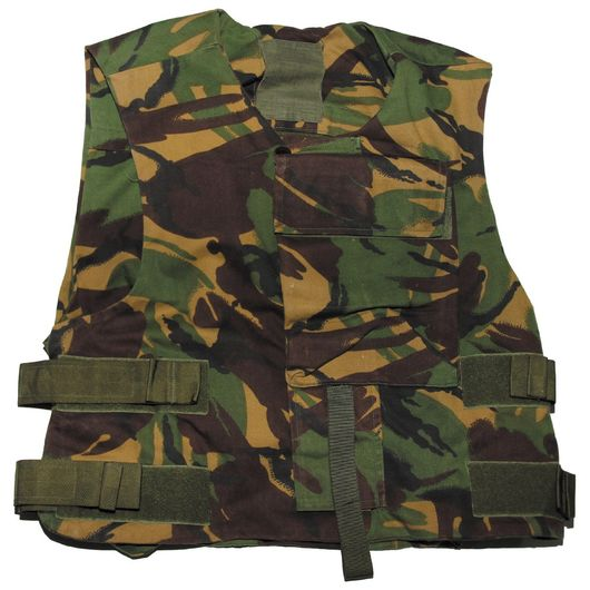 British Army Issue Kevlar DPM Camo Vest Cover
