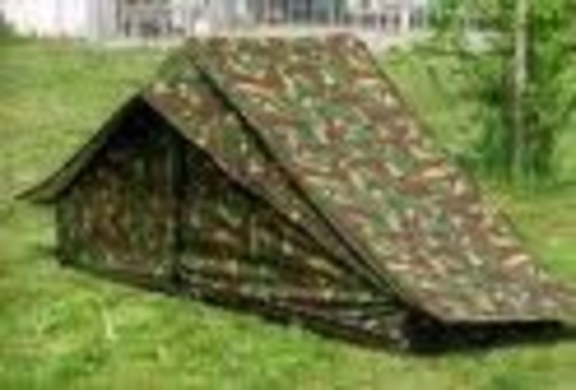 Dutch army 2 Man DPM Camo Tent