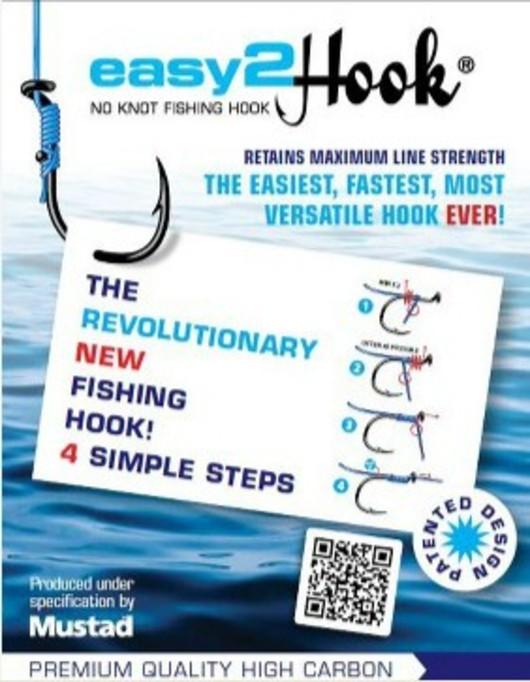 Easy2Hook fishing hooks no knots survival