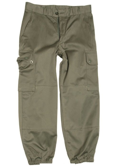French F1  F2 olive green Combat trousers