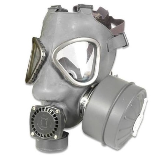 Finnish Gas Mask Respirator and filter