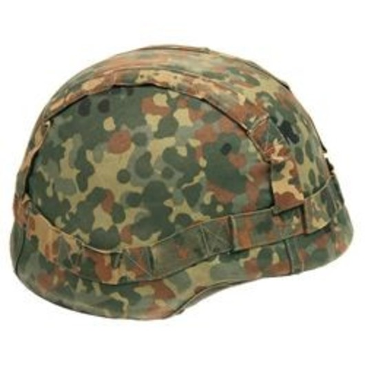 German army flektarn helmet cover