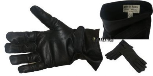 French Army Leather Gloves
