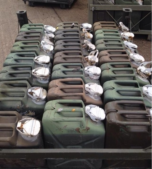 Ex Army Jerry Cans Wide Neck