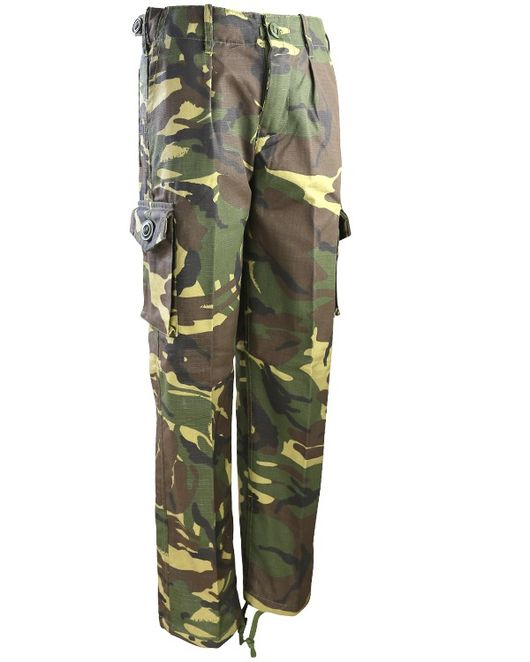 Kids Camo Combat Trousers