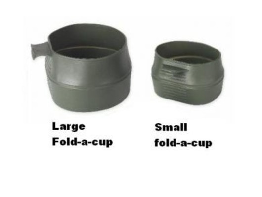 WILDO Fold-A-Cup Large 600ml Swedish Folding  flexi cup