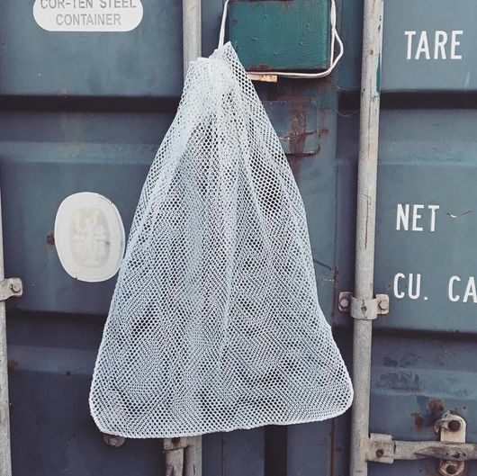 Military White Laundry Bag