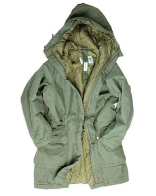Swedish Army M90 Parka lined hood