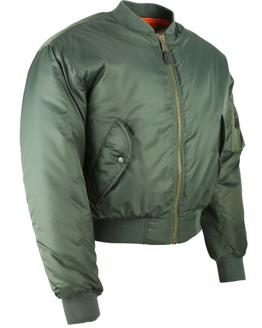 MA1 Flying Jacket Olive Green