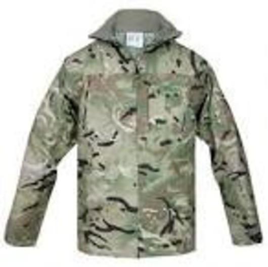 British arny MTP Waterproof lightweight Goretex jacket