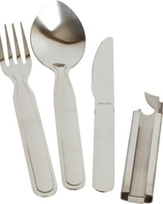 NATO Knife Fork Spoon Set