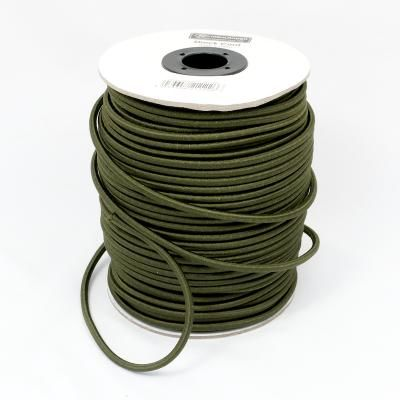 6mm Olive Green Shock Cord Per Metre